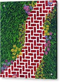 Step Into My Garden Acrylic Print