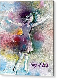 Step Of Faith Acrylic Print