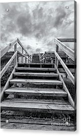 Acrylic Print featuring the photograph Step On Up by Linda Lees