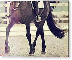 Step Up And Under Acrylic Print by Jamart Photography