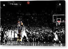 Steph Curry Its Good Acrylic Print by Brian Reaves