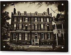 Stephenson's Hotel - Harpers Ferry Acrylic Print by Bill Cannon