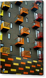 Stepped Living Acrylic Print by Jez C Self