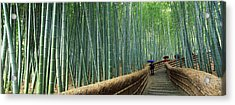 Stepped Walkway Passing Acrylic Print by Panoramic Images