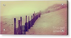 Stepping In A Clouded Dream Acrylic Print