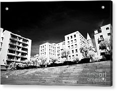Steps In Marseille Acrylic Print by John Rizzuto