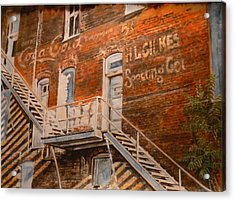 Steps In Time Acrylic Print