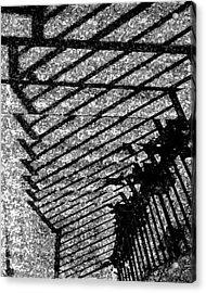 Steps Acrylic Print by John Bradburn