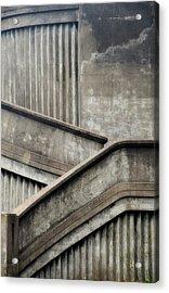Steps Acrylic Print by Newel Hunter
