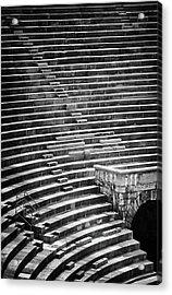 Steps Of Verona Arena  Acrylic Print by Carol Japp