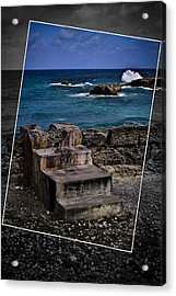 Steps To The Ocean2 Acrylic Print