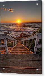 Steps To The Sun  Acrylic Print by Peter Tellone