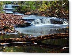 Stepstone Falls Acrylic Print