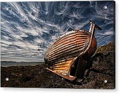 Stern Boat Acrylic Print