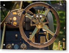 Steering Wheel 1909 Alco Black Beast Acrylic Print