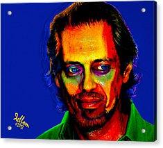 Steve Buscemi Pop Art Acrylic Print by Che Moller