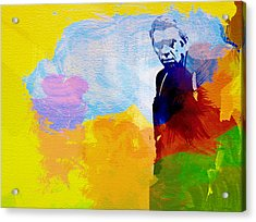 Steve Mcqueen Acrylic Print by Naxart Studio