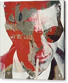 Steve Mcqueen Acrylic Print