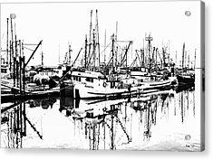 Steveston Harbor Acrylic Print