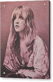 Stevie Nicks  Acrylic Print