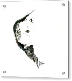 Stevie Nicks Acrylic Print by Addie Coppola