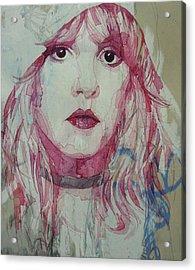 Stevie Nicks - Gypsy  Acrylic Print