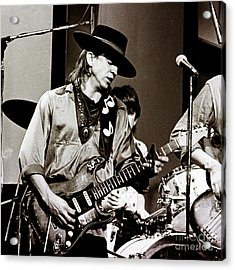 Stevie Ray Vaughan 3 1984 Acrylic Print