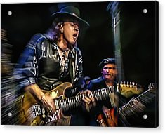 Stevie Ray Vaughan - Couldn't Stand The Weather Acrylic Print