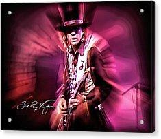 Stevie Ray Vaughan - Crossfire Acrylic Print