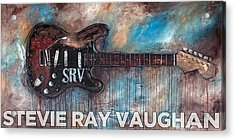 Stevie Ray Vaughan Double Trouble Acrylic Print