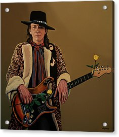 Stevie Ray Vaughan 2 Acrylic Print by Paul Meijering