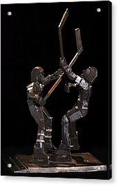 Stick Dance Acrylic Print by Ken Yackel