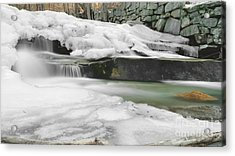 Stickney Brook Falls Acrylic Print