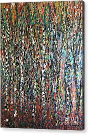 Sticks And Stones Acrylic Print by Heather McKenzie