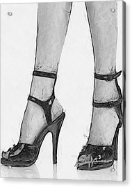Stiletto Acrylic Print by Anthony Caruso