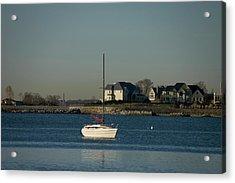 Still Boat Acrylic Print