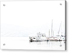 Still Harbour Acrylic Print