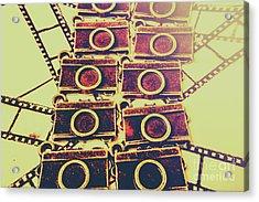 Still In Film Acrylic Print