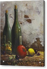 Still Life 3 Acrylic Print by Harvie Brown