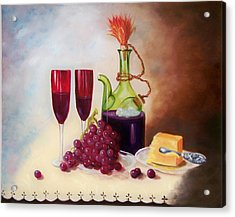 Still Life 5 Acrylic Print by Joni McPherson