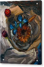 Still Life Abstract Acrylic Print