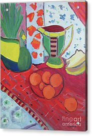 Still Life After Matisse Acrylic Print