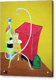 Still Life Acrylic Print by Christopher Lewis