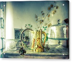 Acrylic Print featuring the photograph Still, Life Goes On by Wayne Sherriff