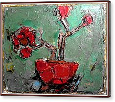 still life in red SLIR2 Acrylic Print by Pemaro