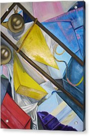 Still Life Acrylic Print by Kelley Sheldon