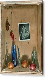 Still Life Acrylic Print by Larry Preston