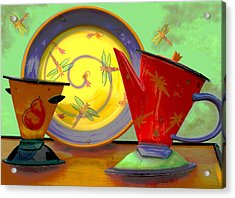 Still Life One Acrylic Print by Jeff Burgess