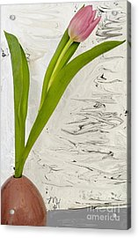 Still Life Tulip Acrylic Print by Marsha Heiken