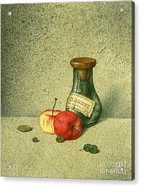 Still Life With A Small Jar Acrylic Print